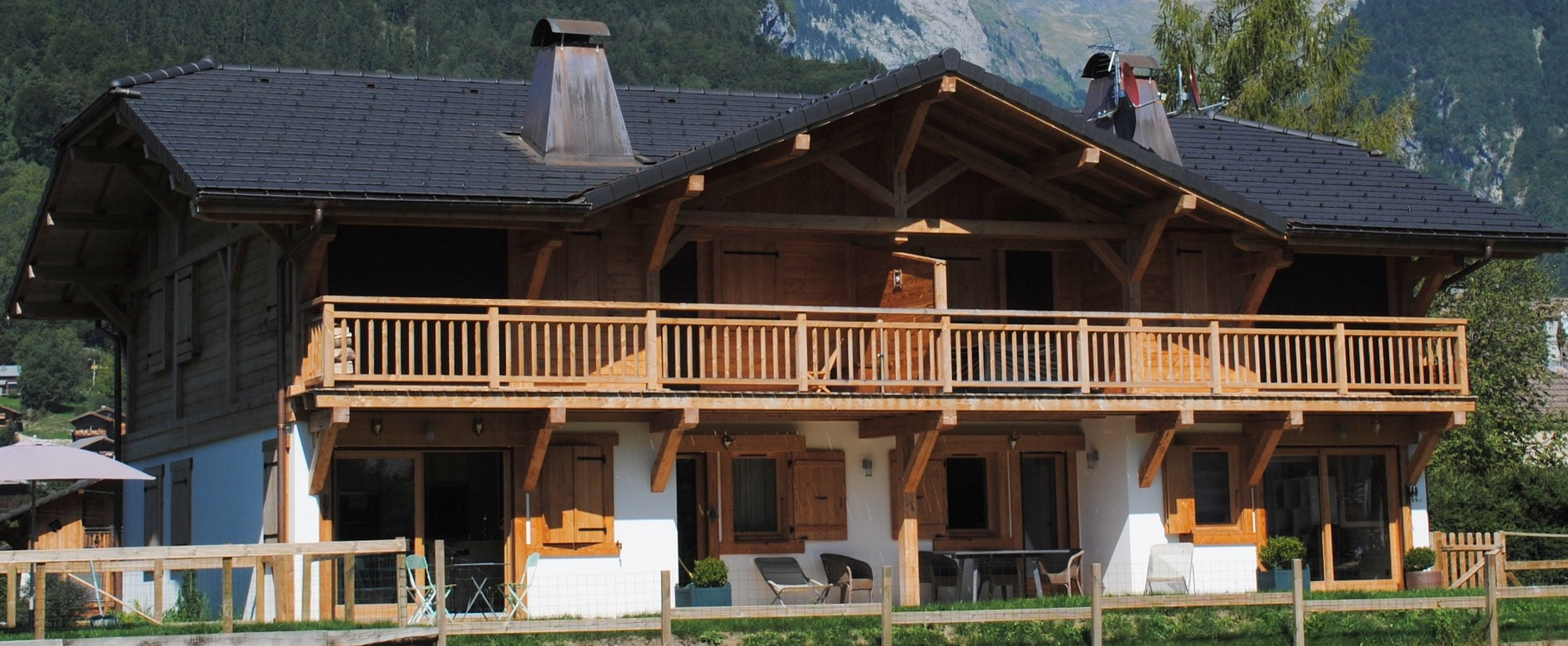 Himalia alpes chalets agence immobili re samo ns for Agence immobiliere 74