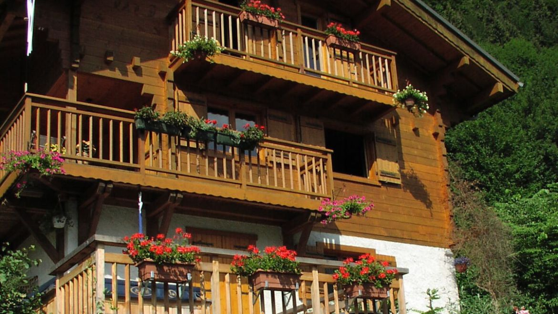 Chalet en bois Bellevue – Sous compromis