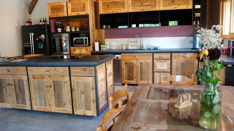 Achat maison en bois/ferme Samoens Myosotis