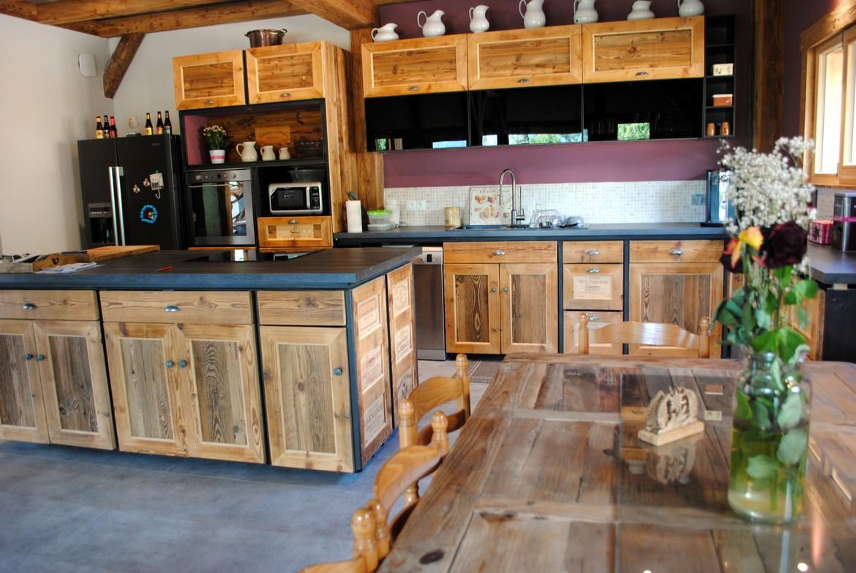 Achat maisonen bois ferme samoens myosotis agence for Agence immobiliere achat maison