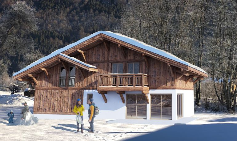 Chalet A Lot B Les Cardamines – Under offer