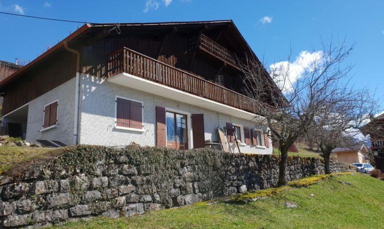 Ferme Tilleul à rénover à Verchaix – Exclusivité Alpes Chalets