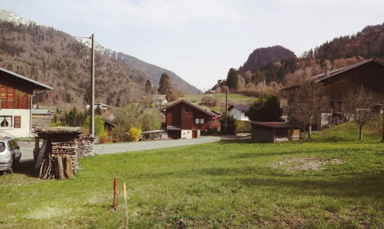 Terrain Saint-Jean-d'Aulps- VENDU
