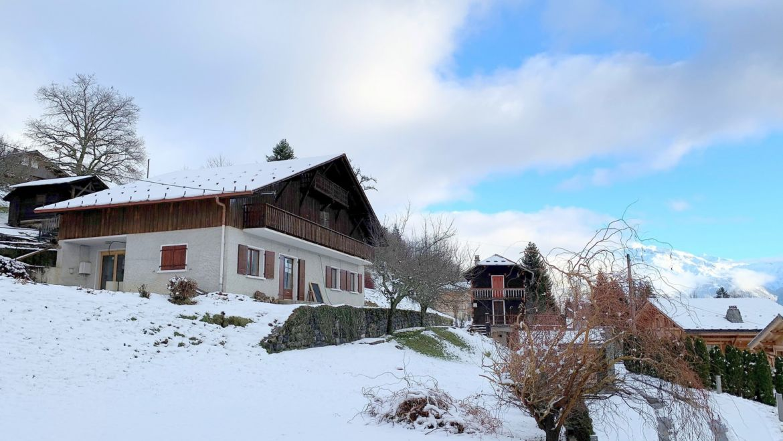 Exclu Alpes Chalets Ferme Tilleul  – SOUS OFFRE
