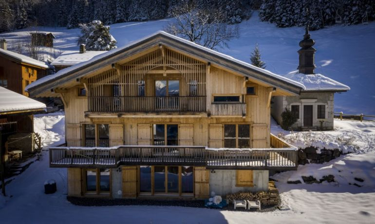 Exclusivité ALPES CHALETS : Chalet Bellevue