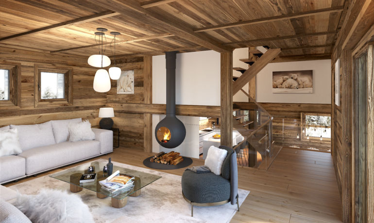 Luxury chalet Kibo Lodge A les Gets – Portes du Soleil