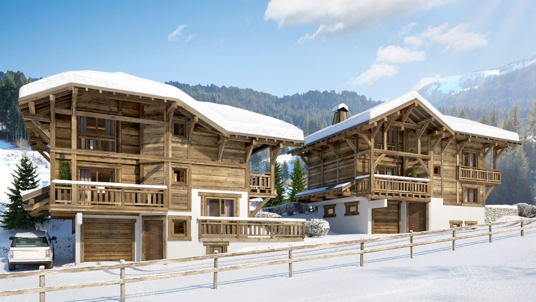 """Luxury Chalets """"Kibo Lodge"""" in Les Gets/Morzine – Portes du Soleil"""